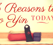 Yin Yoga Benefits