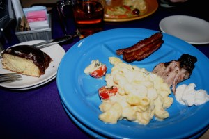 My second plate at Dazzle Urban Brunch, Denver 2009