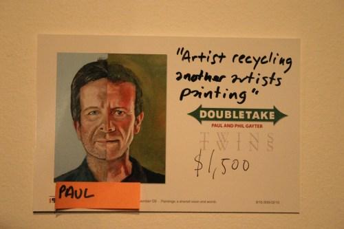 Gallery 19 Paul Gayter card KC Nov 2009