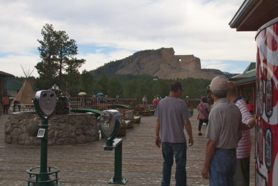 Crazy Horse behind Coke machine July 2011 (1)