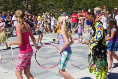 Jasmine Pickner, women's hoop dance, Lakota, Beth Partin's photos