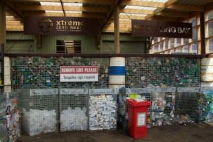 Extreme recycling bay 1 Raglan NZ Sept 2015