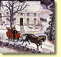 Christmas sleigh ride