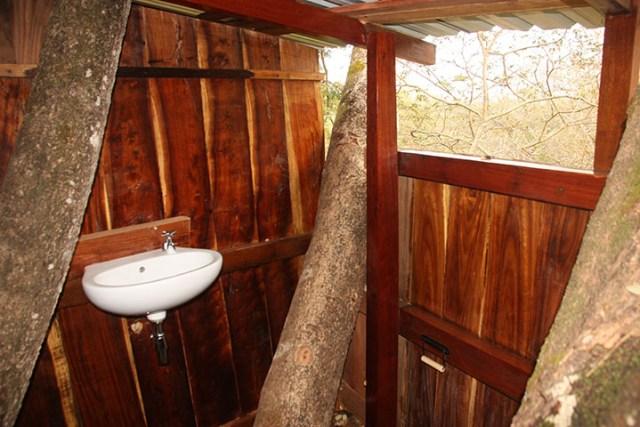 Treehouse Upstairs Restroom