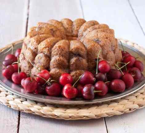 4 Ingredient Cherry & Cream Soda Bundt Cake