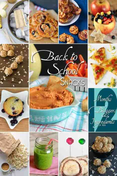 12 awesome after school snack recipes | Betsylife.com #12bloggers