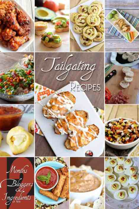 12 Great Tailgating Game Day Recipes #12bloggers