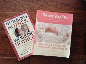 Nursing Mother, Working Mother & the Sears' Baby Sleep Book