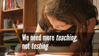 Georgia needs more teaching, not testing