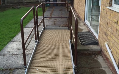 Ramp Slope 1 in 12 – Garden Access