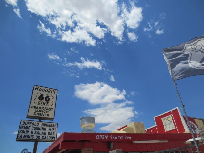 Cafe and Sky