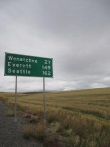 Seattle Sign Portrait