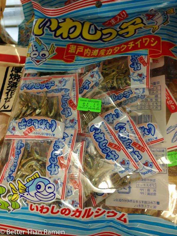 hana japanese market photo tour japanese fish snacks