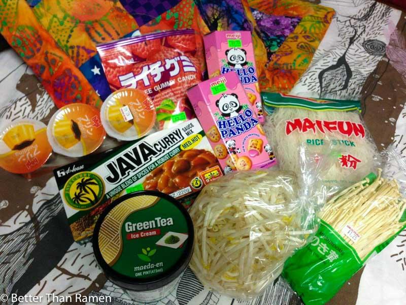 hana japanese market photo tour products
