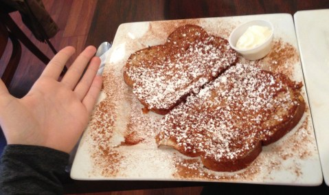 our family cafe jenkintown french toast review national french toast day