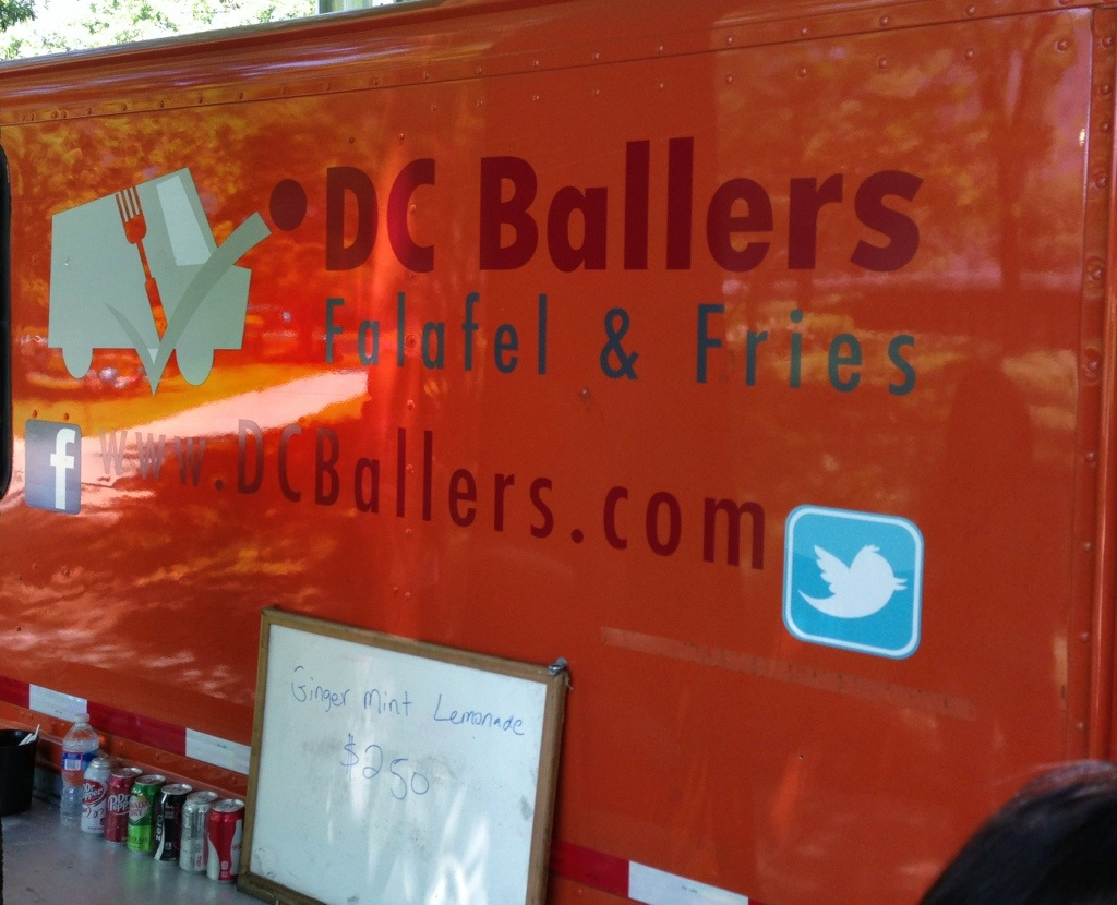 dc ballers food truck review