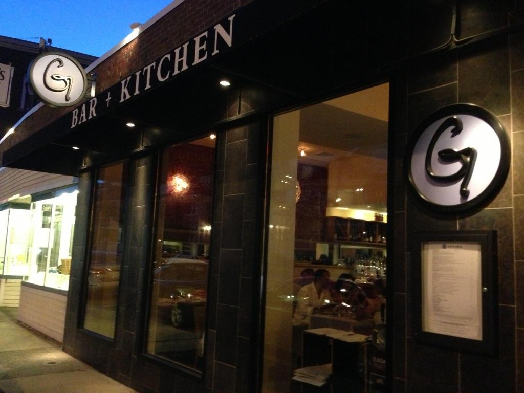g bar kitchen review