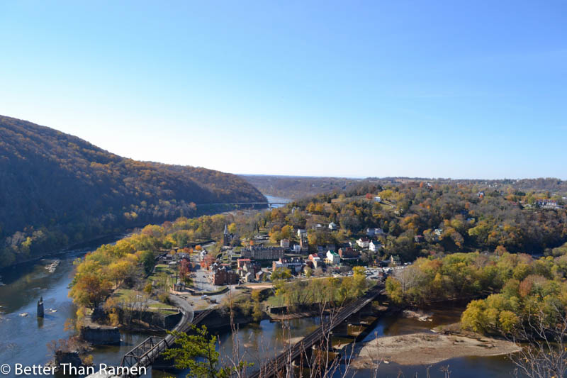 anglers inn harpers ferry breakfast review maryland heights view