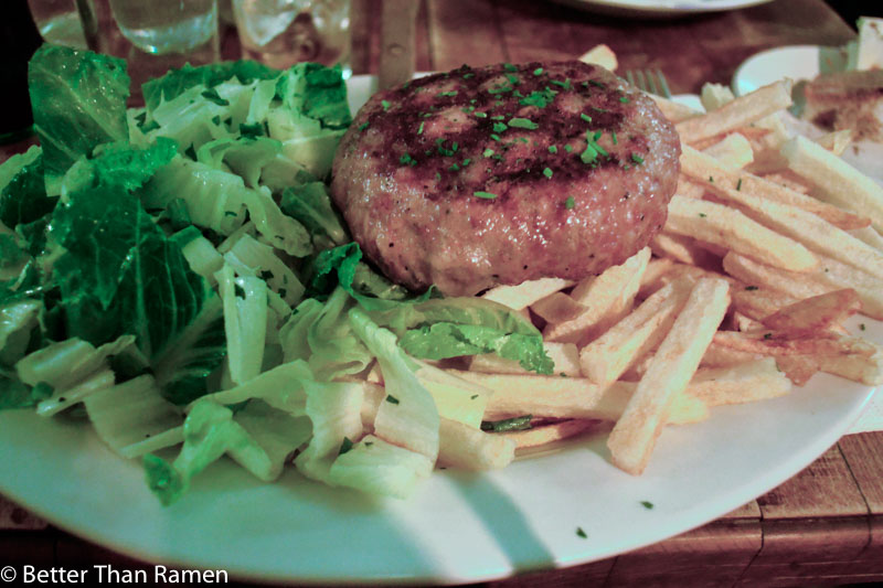 kafana serbian restaurant new york review punjena pljeskavica stuffed serbian hamburger