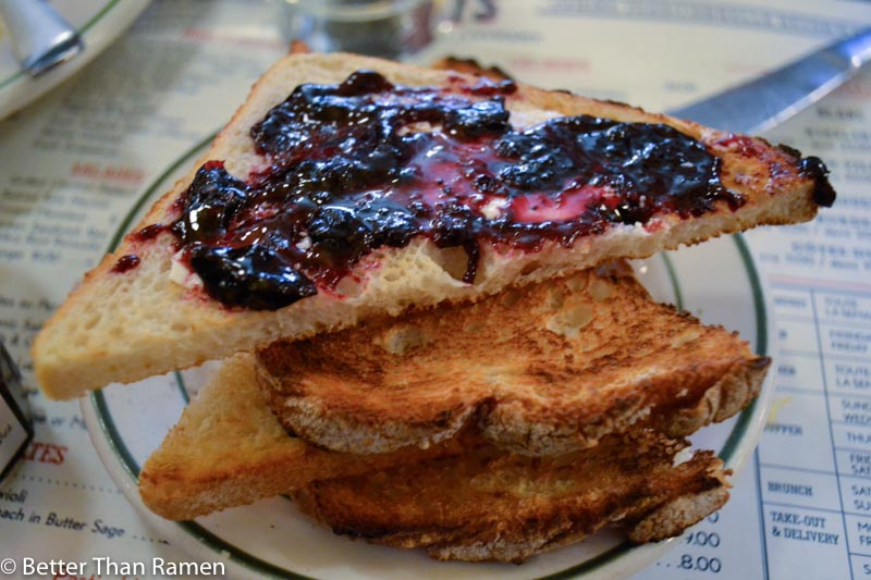 pastis new york restaurant review french toast bonne maman jam