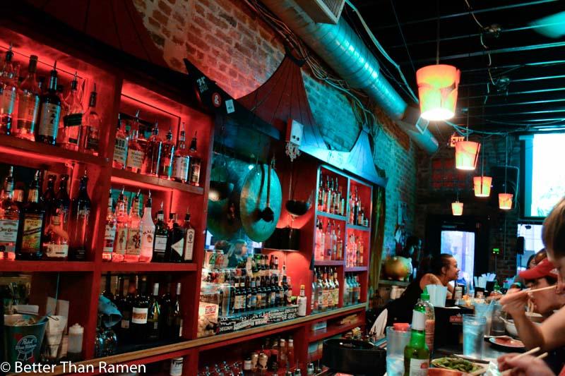 sticky rice dc review pagoda bar