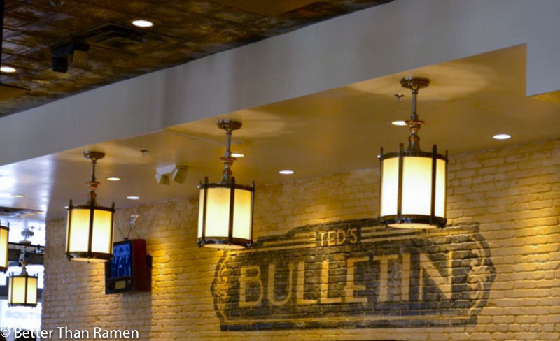 teds bulletin 14th street brunch review interior