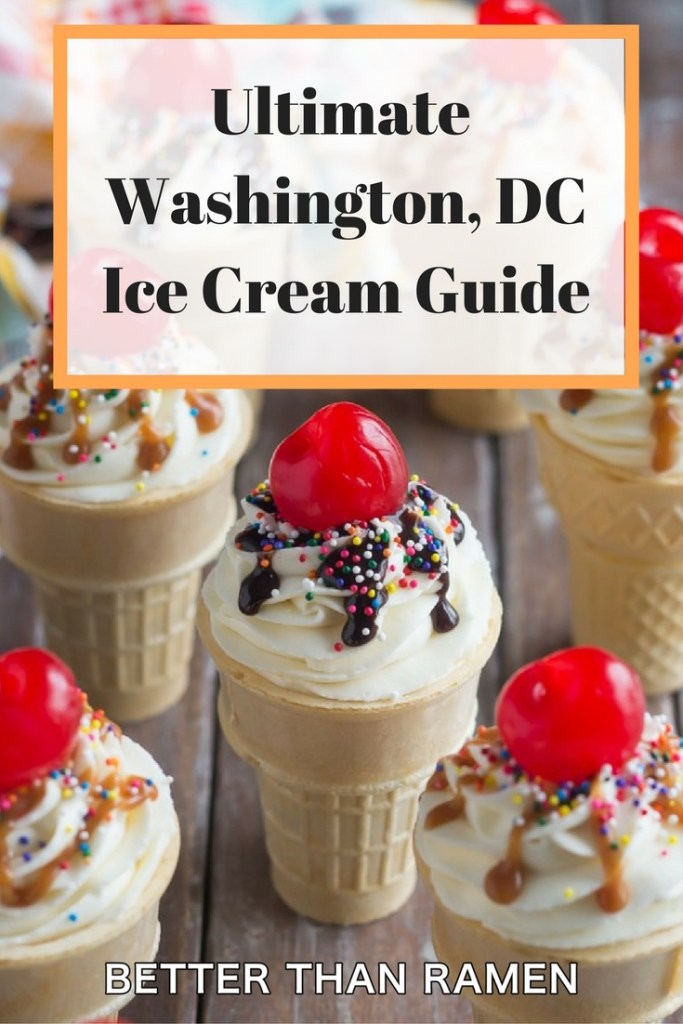 ultimate washington dc ice cream guide