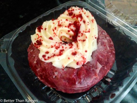 Glazed and Infused Lincoln Park Review red velvet doughnut donut