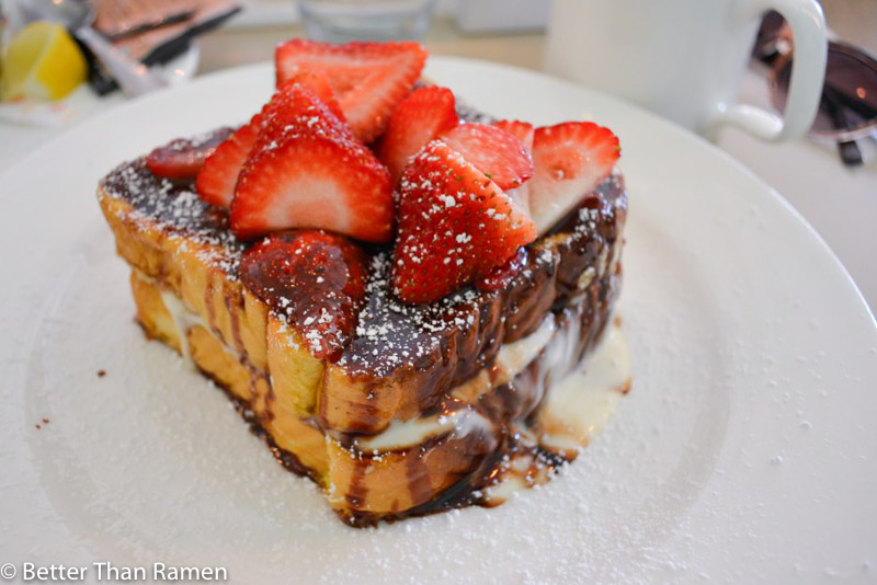 Elly's Pancake House's Stuffed French Toast national french toast day best worst french toast guide washington dc chicago