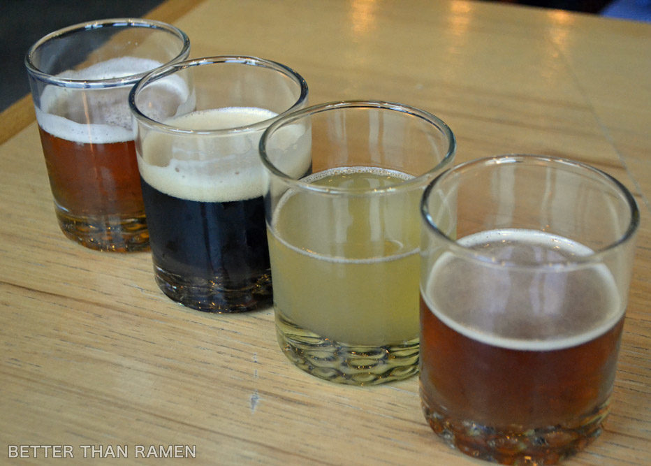 parts labor chicago beer flights