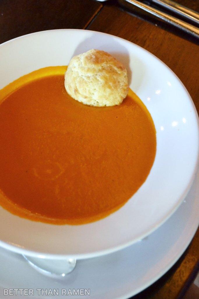 prairie grass cafe tomato leek soup