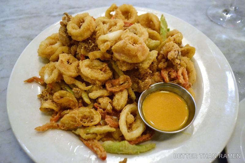 oyster bah wicked calamari