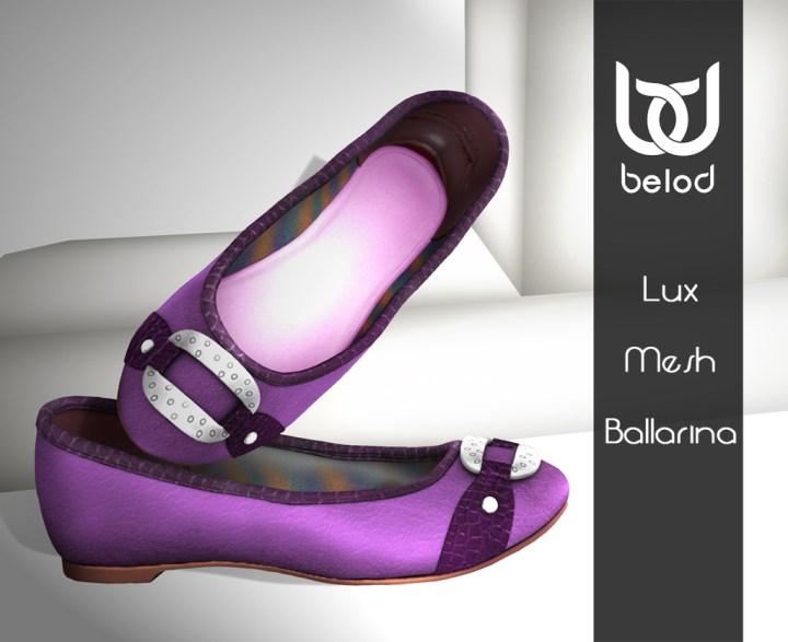 BeloD - Lux Ballarine Viola vend
