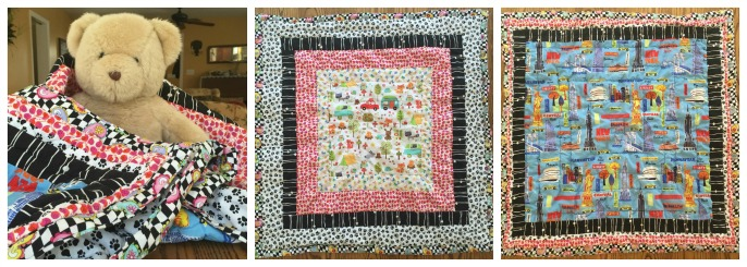 nyc baby quilt