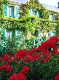 Claude Monet's house in Giverny.
