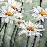 The daisy is for simplicity and unaffected air