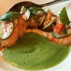 Shrimp from Enoteca