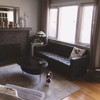 Living room update.
