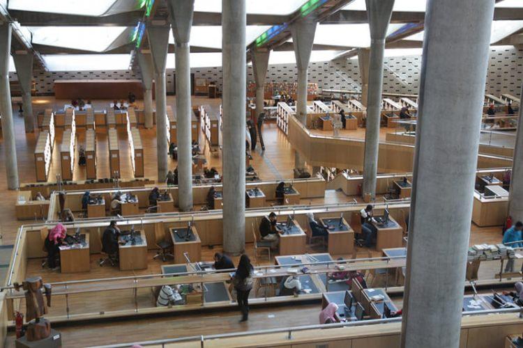 埃及亞歷山卓圖書館
