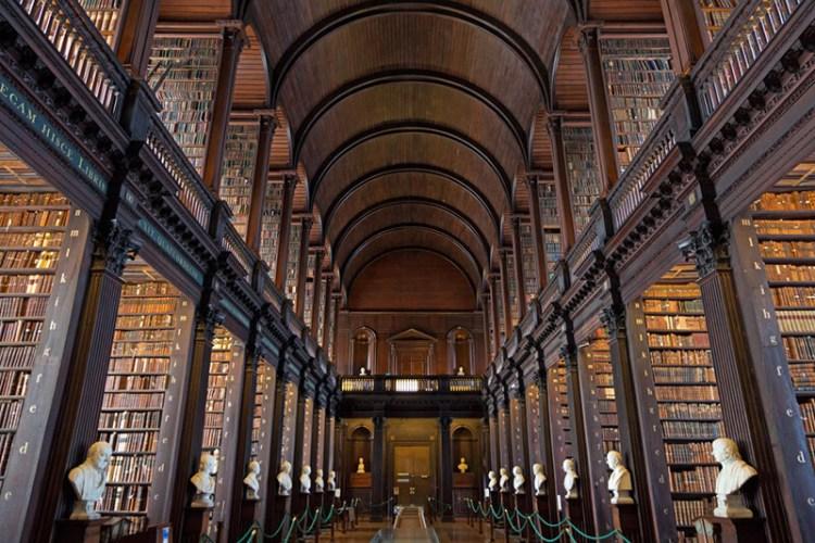愛爾蘭都柏林圖書館