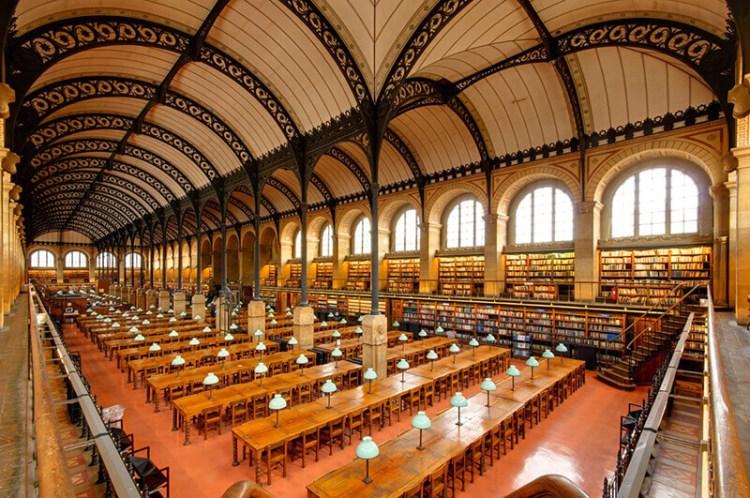 巴黎聖日內維耶圖書館