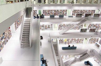 全球天堂般最美圖書館