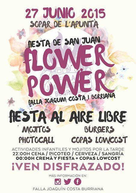 flower power valencia san juan