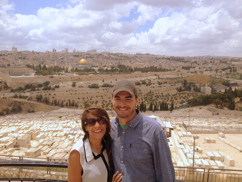 Mount of Olives view (1)