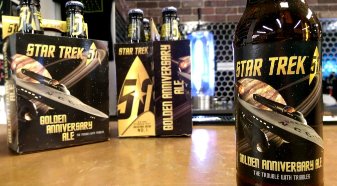 Star Trek Beer | 50 Golden Anniversary Ale | The Trouble with Tribbles