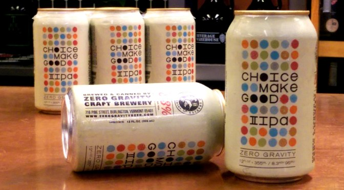 Choice Make Good IIPA | Zero Gravity