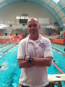 Swim coach Donald Graham begins his first week at Beverly.