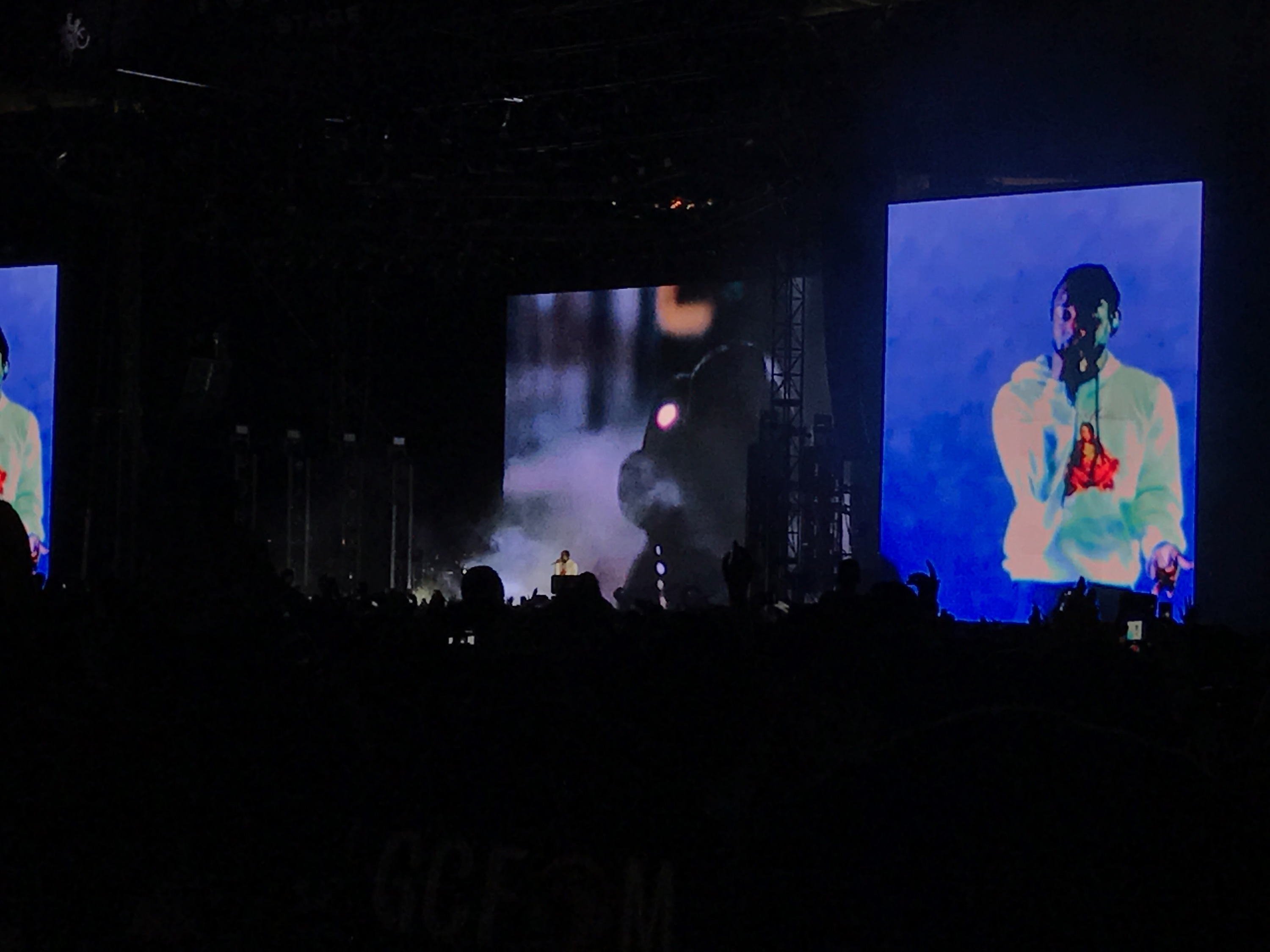"Kendrick Lamar closes out the festival songs from his new album, ""DAMN,"" as well as some of his all time hits."