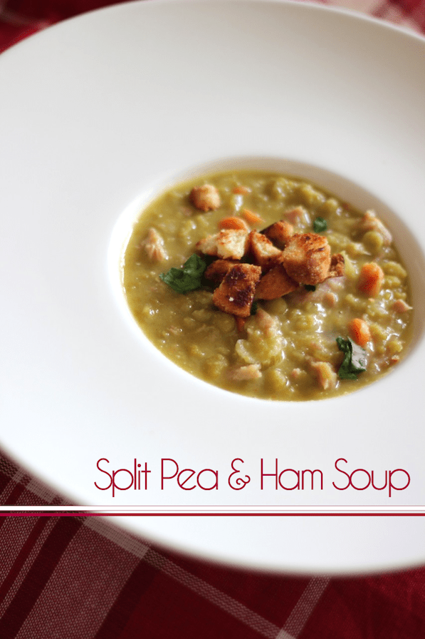 Split Pea and Ham Soup | Be What We Love