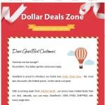 【夏=暑い=海外通販事始め】1ドル以下のお買物でテスト!Dollar Deals Zone 節約家は海外通販必須です